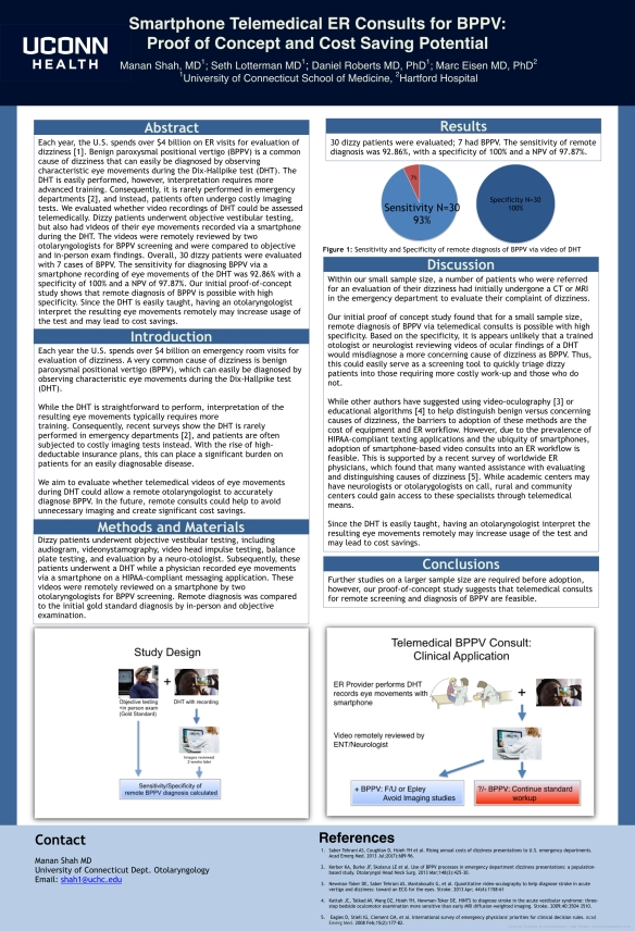Telemedical BPPV Consults Poster .001